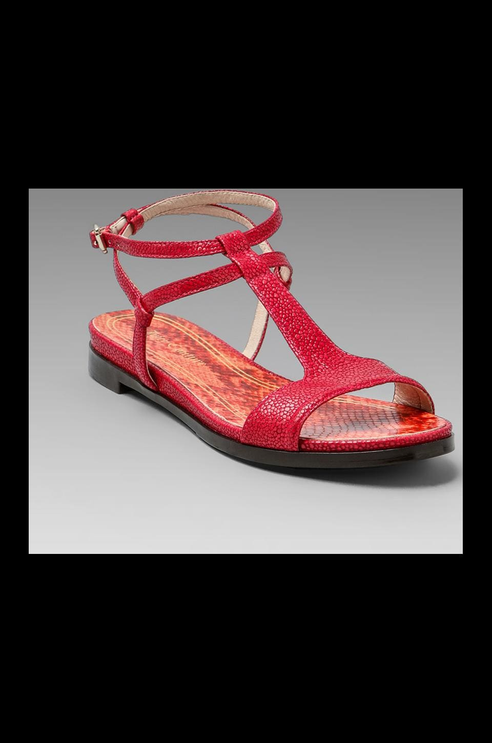 Juicy Couture Cedar Sandal in Hot Pink