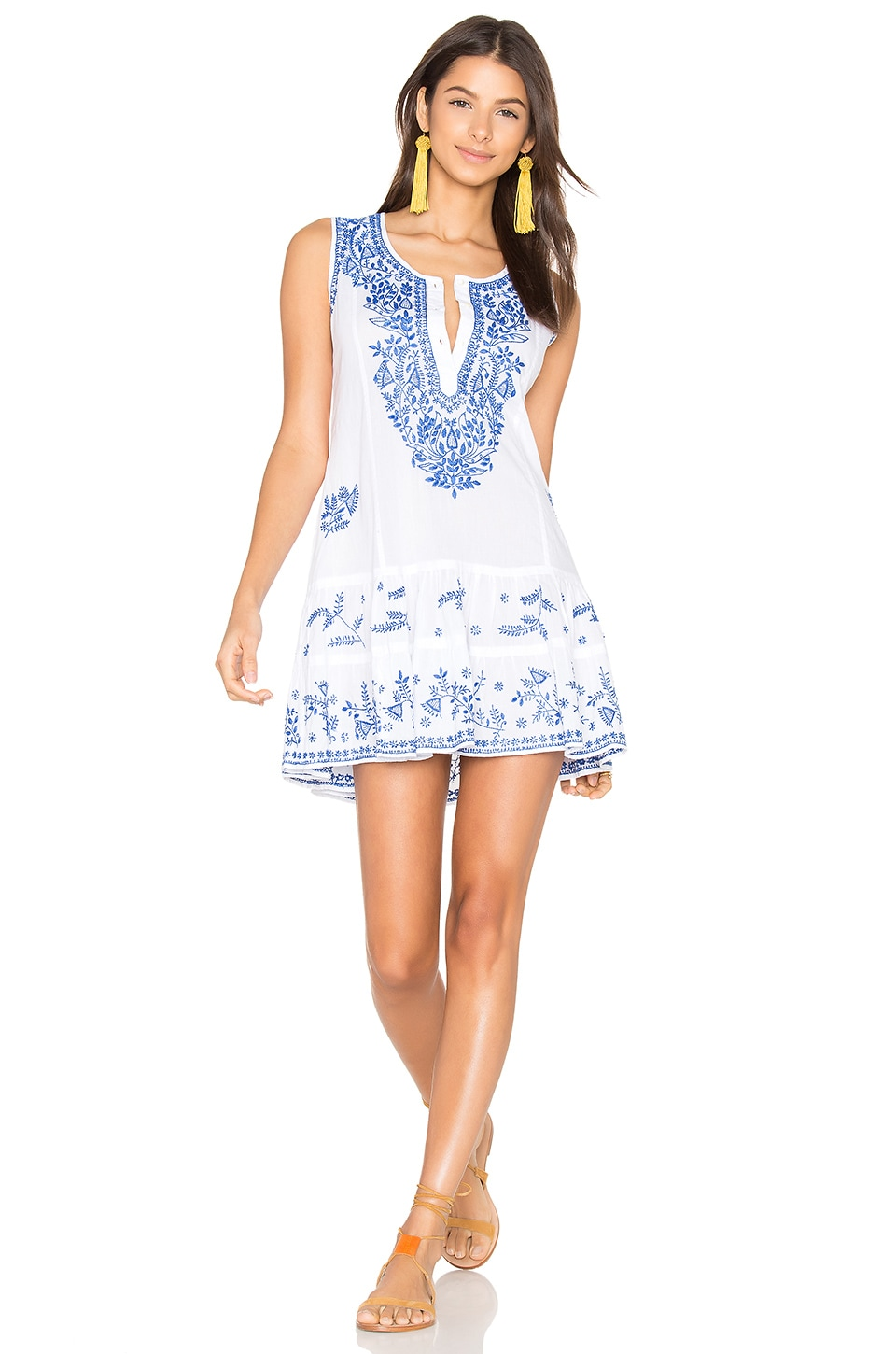 Shift Beach Dress by Juliet Dunn