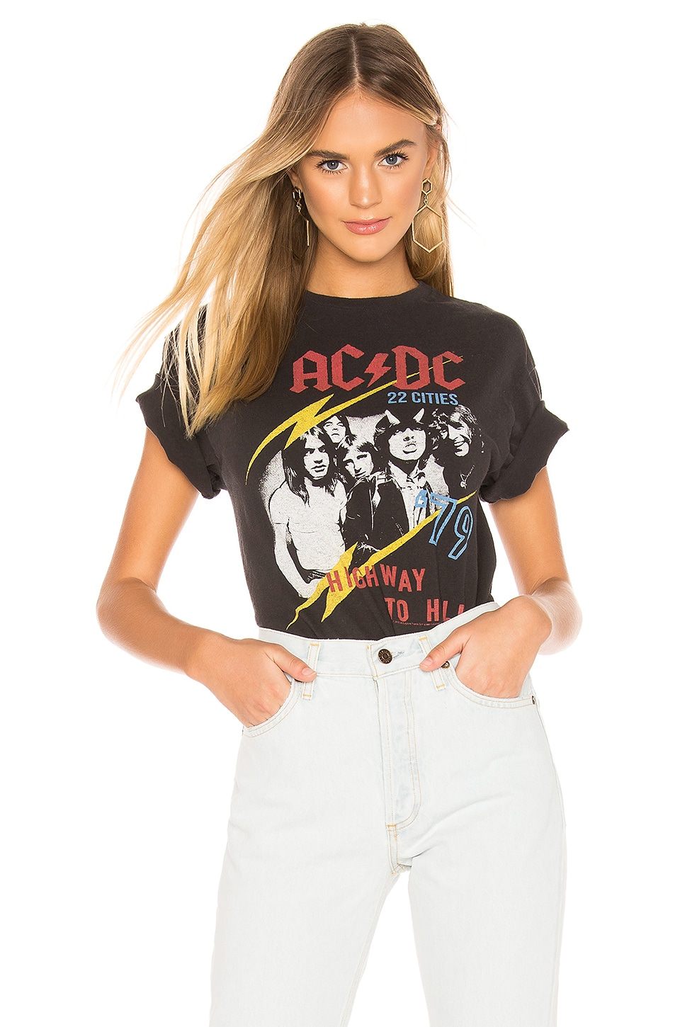 Junk Food AC/DC 79 Tour Tee in Black