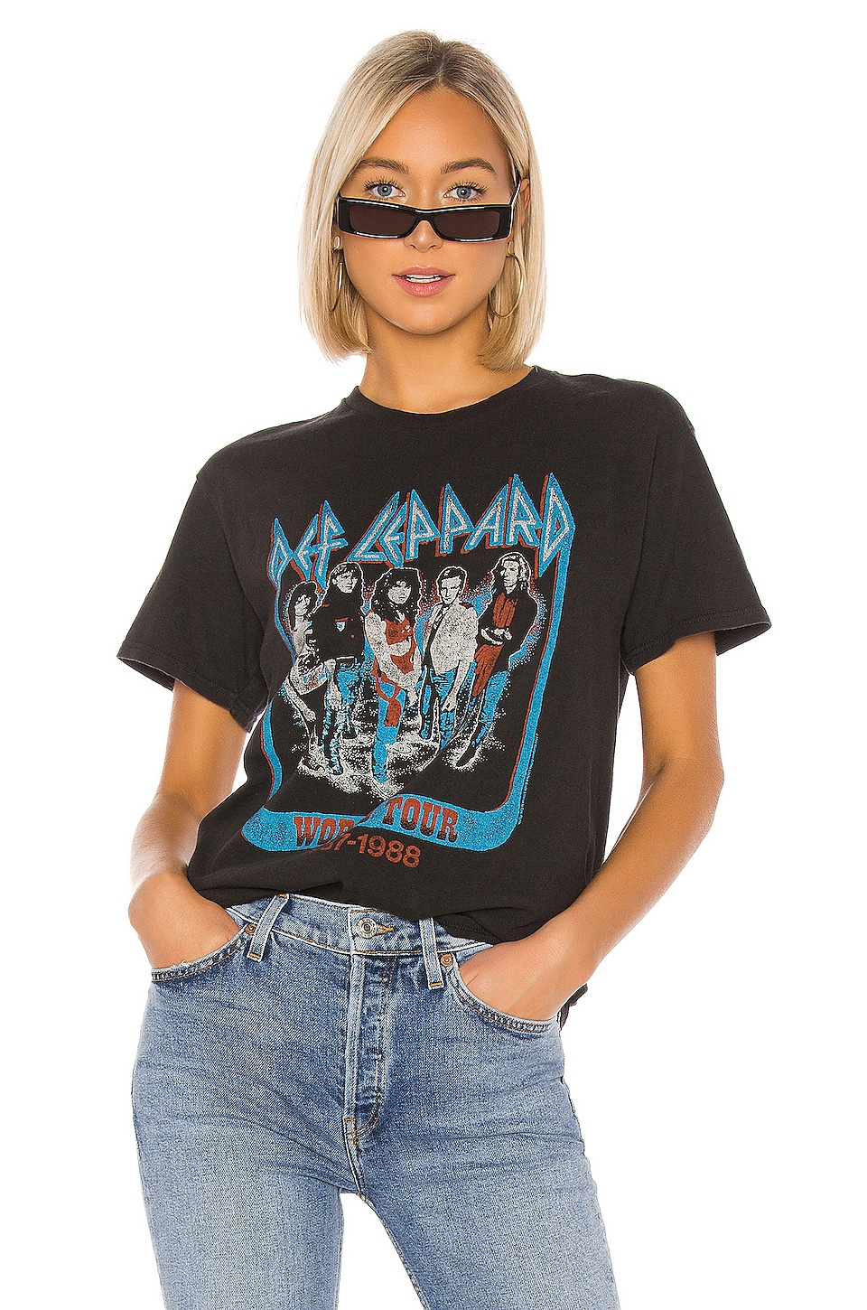 Junk Food Def Leppard World Tour in Vintage Black