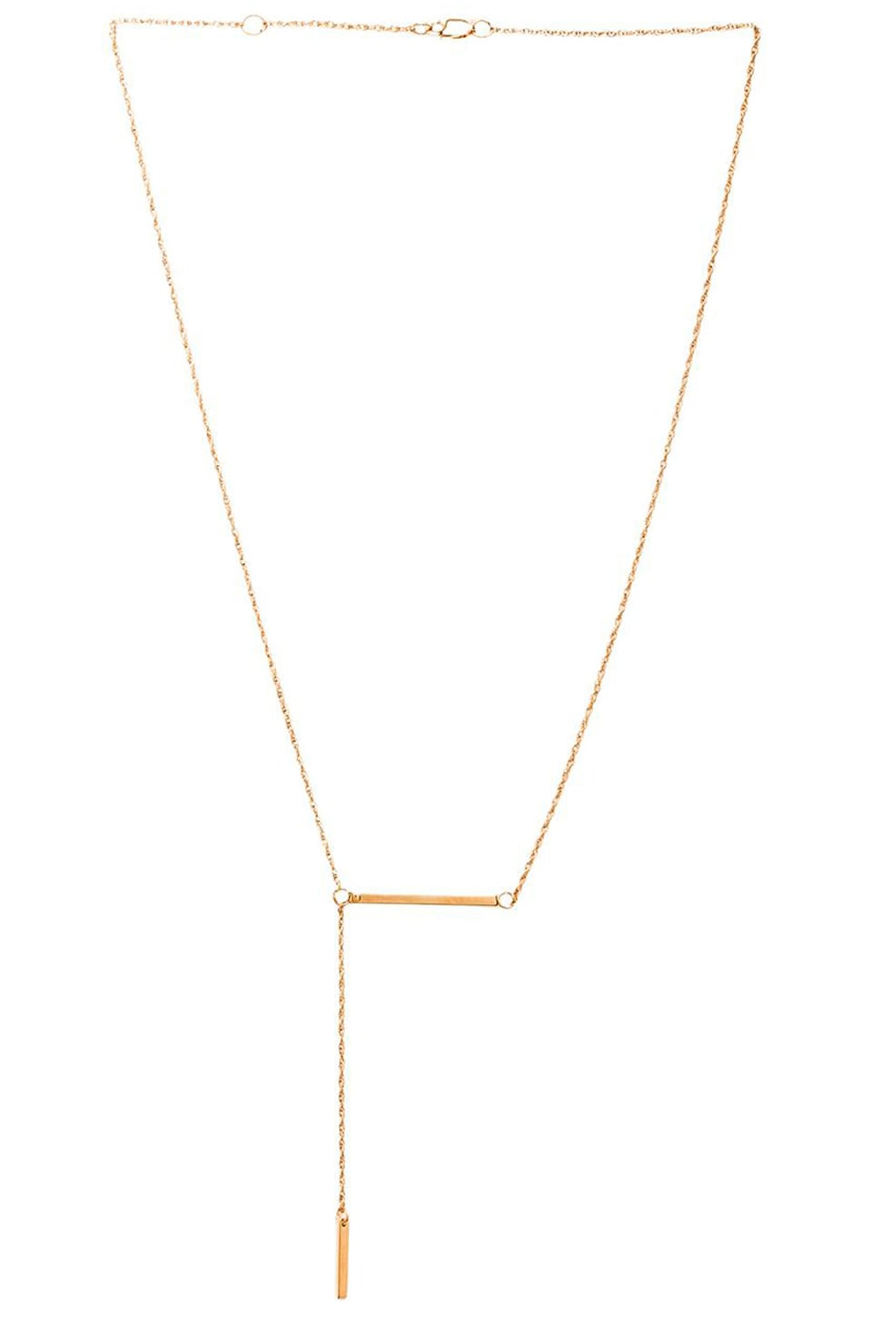 Jennifer Zeuner Petra Necklace in Yellow