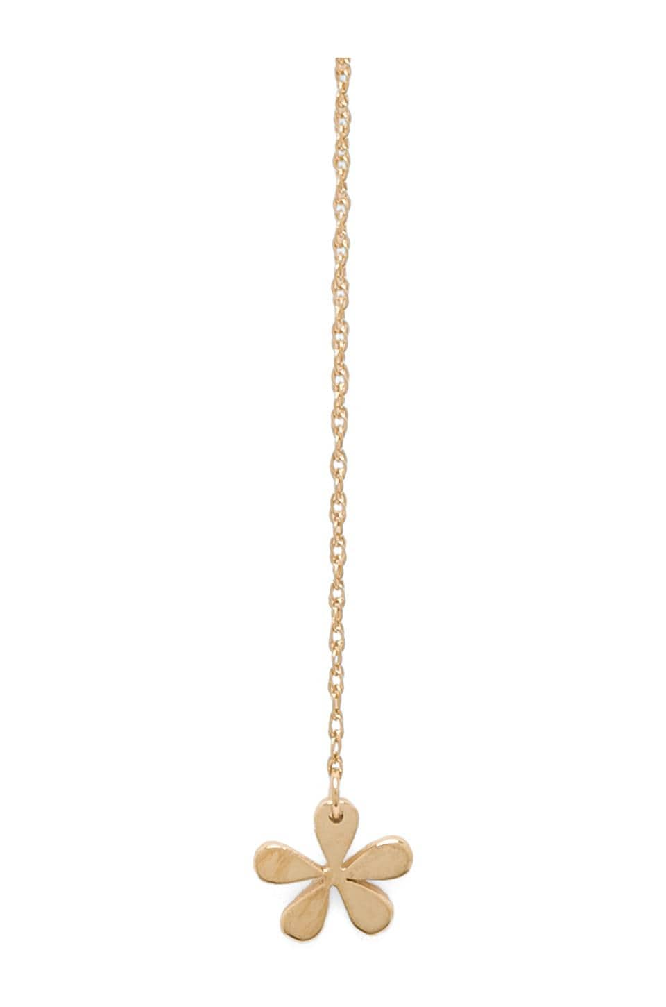 Jennifer Zeuner Lourdes Lariat Necklace in Yellow