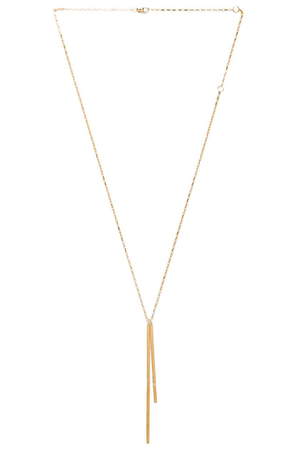 Jennifer Zeuner Peyton Necklace in Yellow