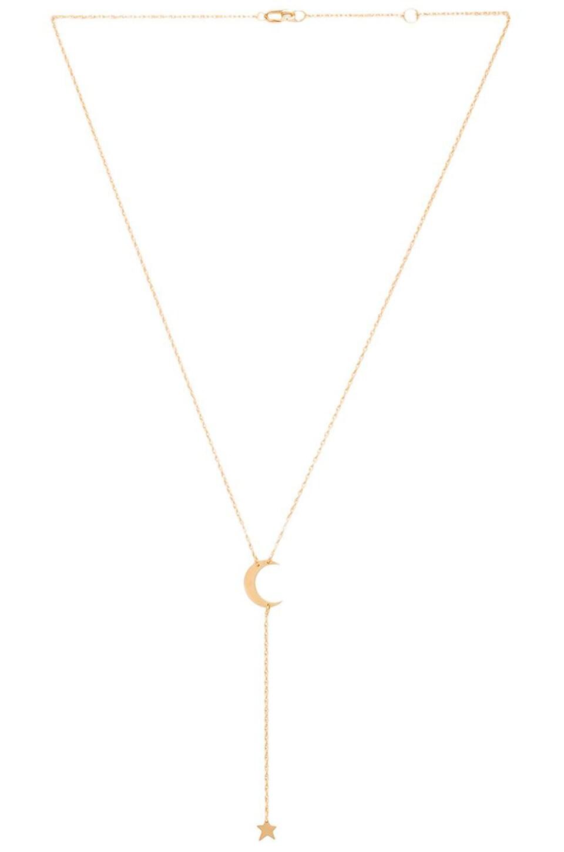 Jennifer Zeuner Kasha Necklace in Yellow Vermeil