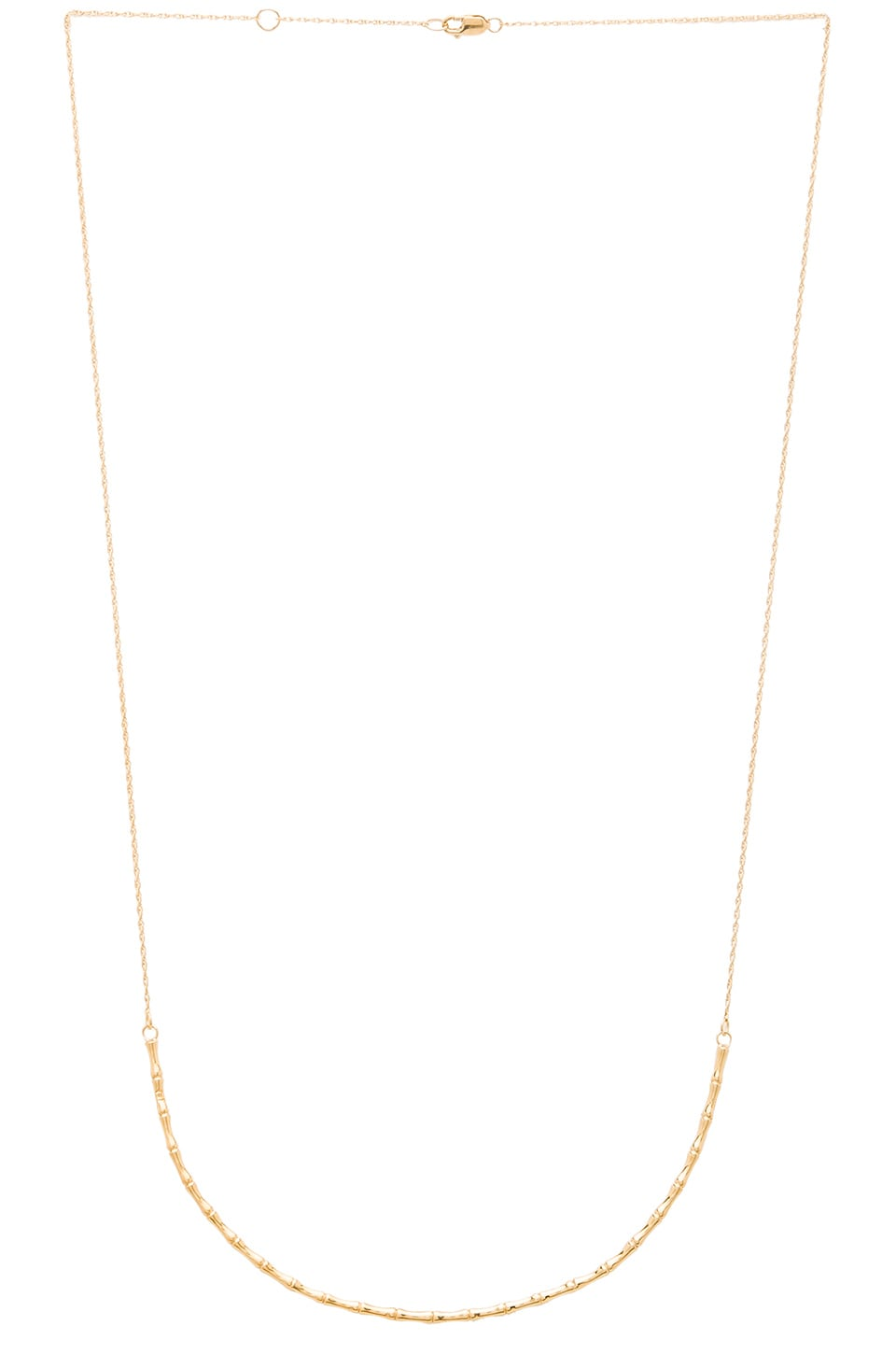 Jennifer Zeuner Sonoma Choker in Yellow Vermeil