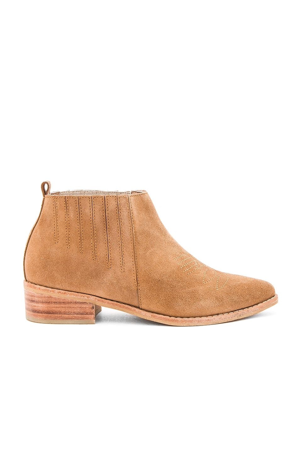Kaanas Havasu Booties in Camel