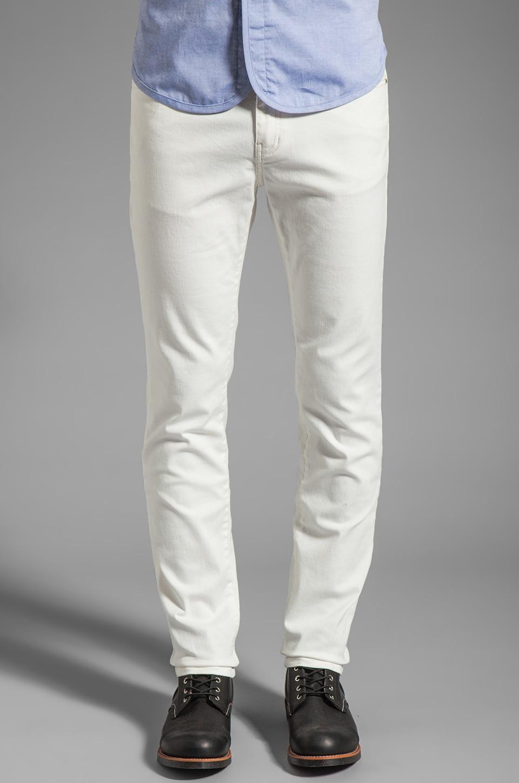 Kai-aakmann Denim Pant in White