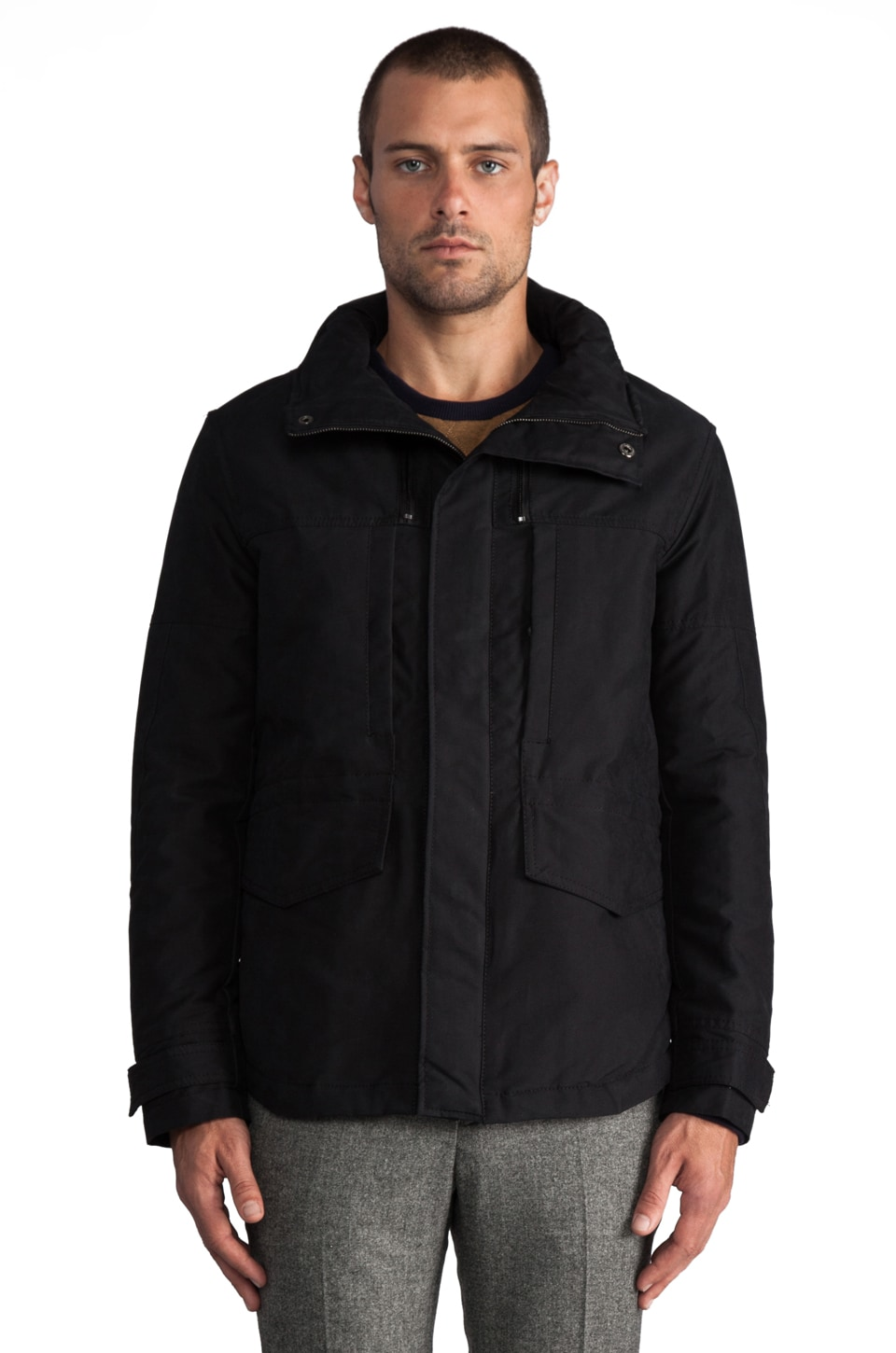 Kai-aakmann Hooded Jacket in Black