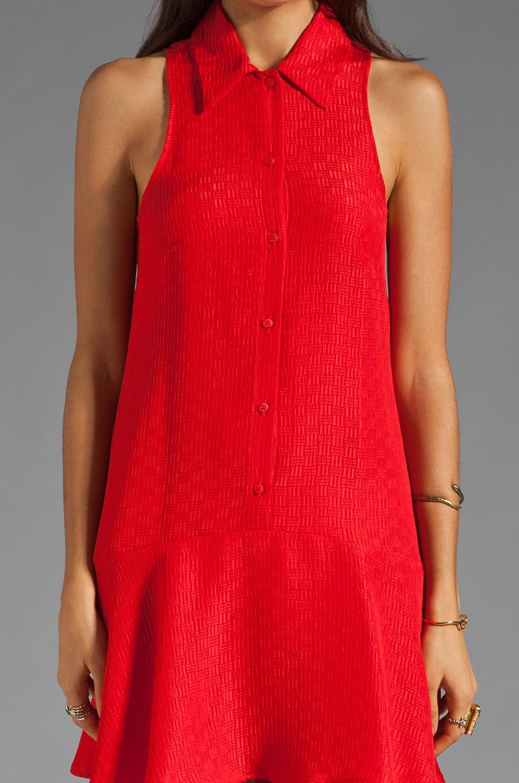 Kain Sofie Dress in Fire Orange