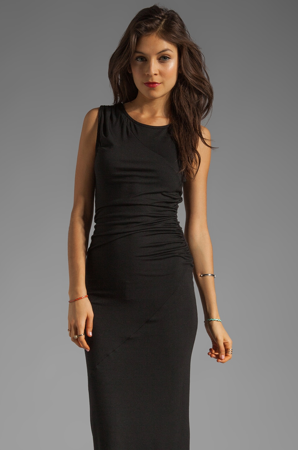 Kain Tarin Dress en Noir