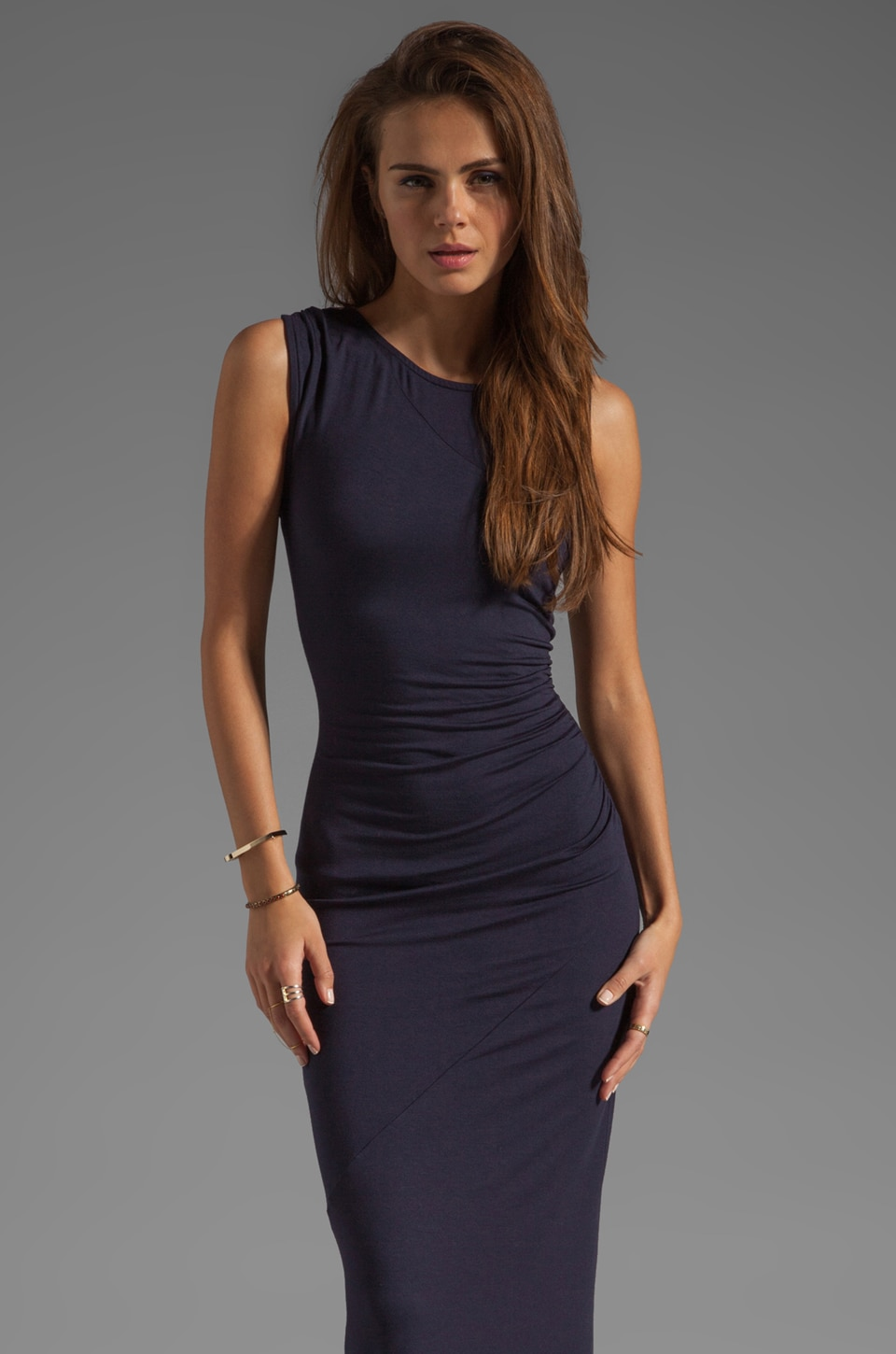 Kain Tarin Dress in Navy