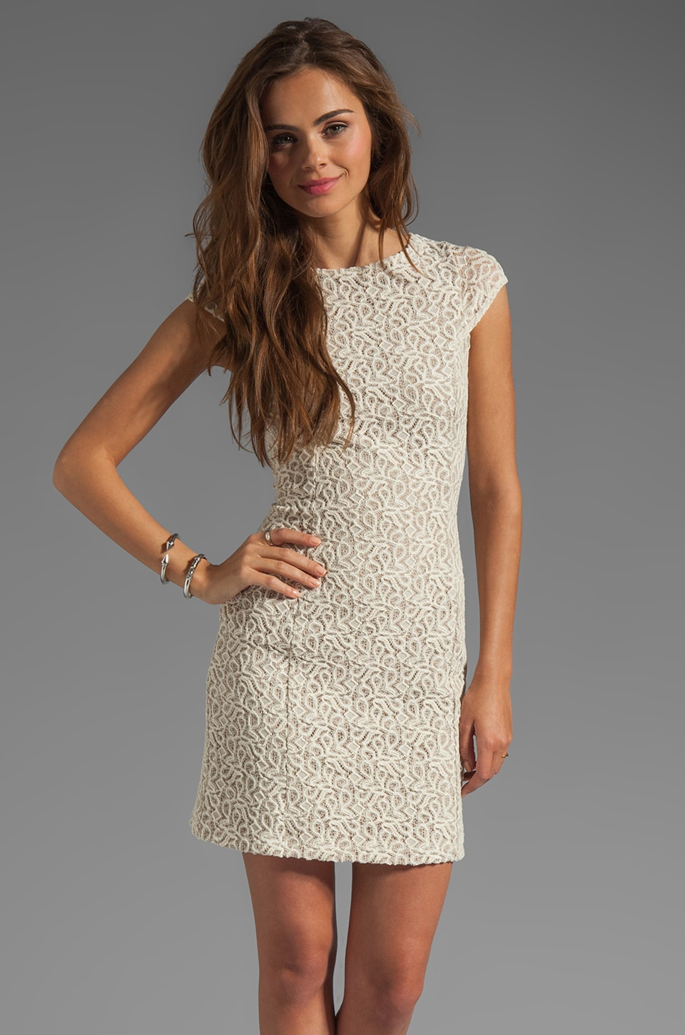 Kain Lace Goldie Dress in Natural
