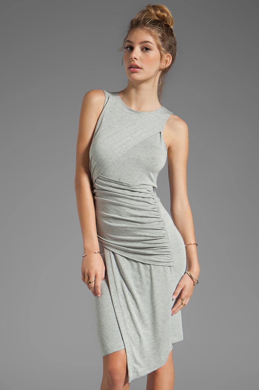 Kain Mariposa Dress in Light Heather Grey