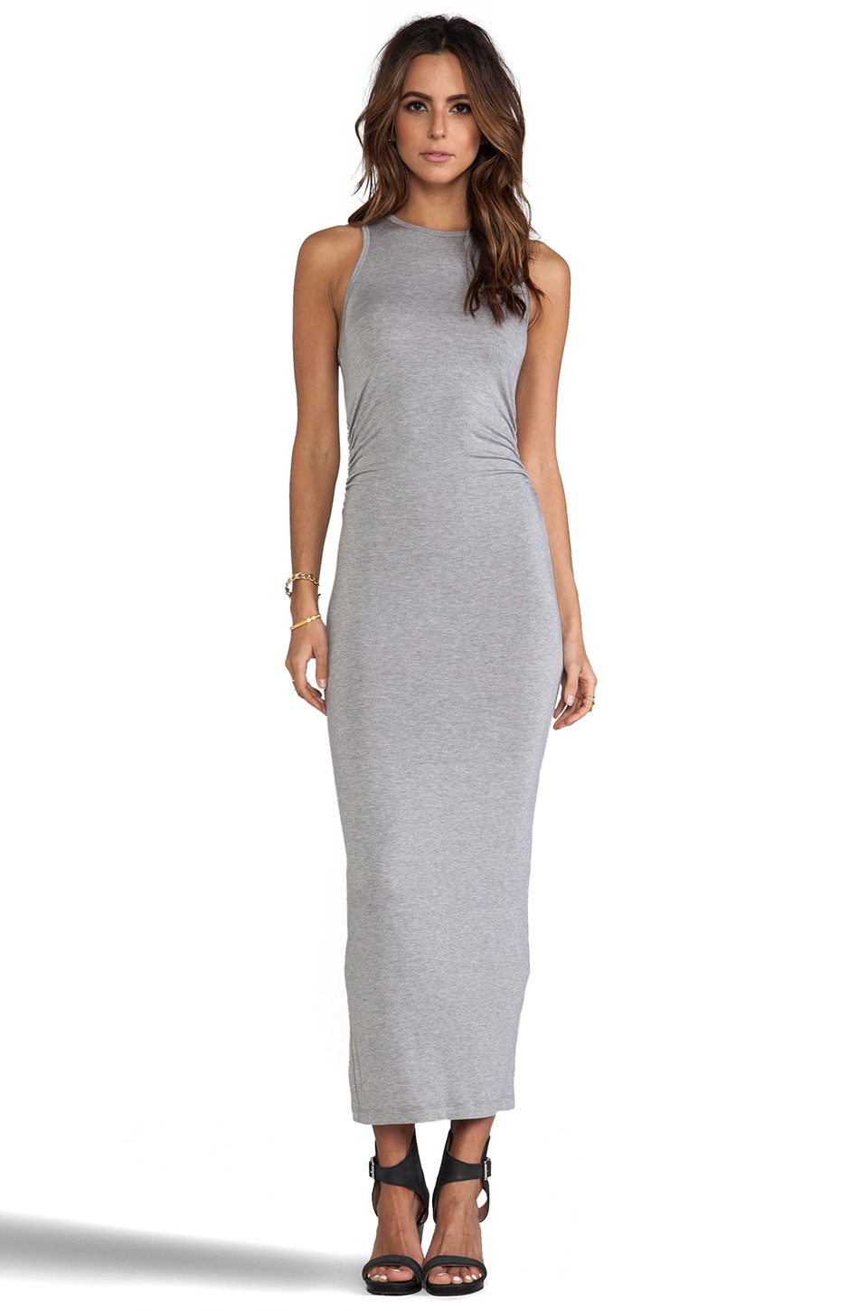 Kain Kinney Dress in Light Heather Grey