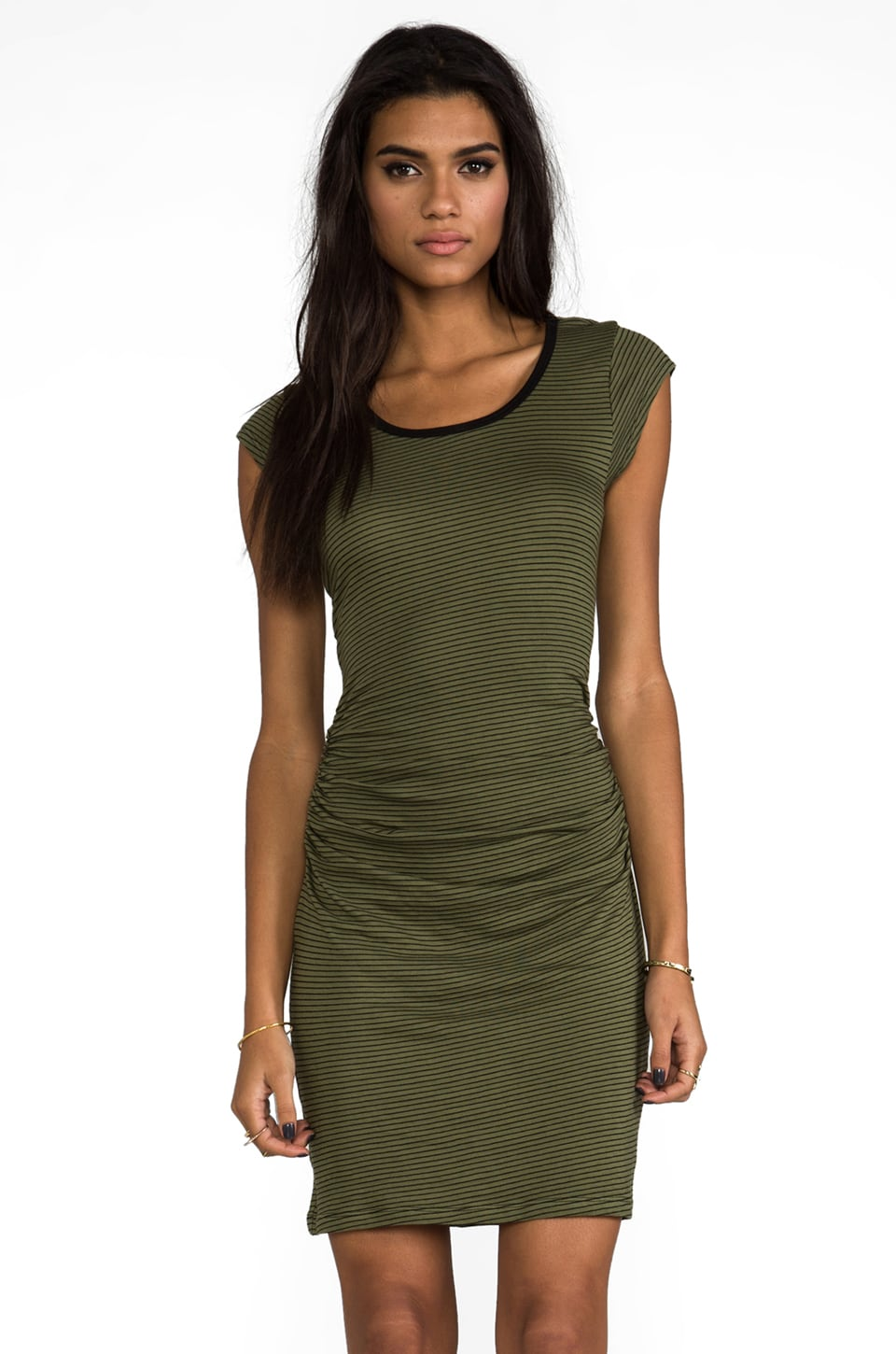 Kain Highsmith Dress in Army Green
