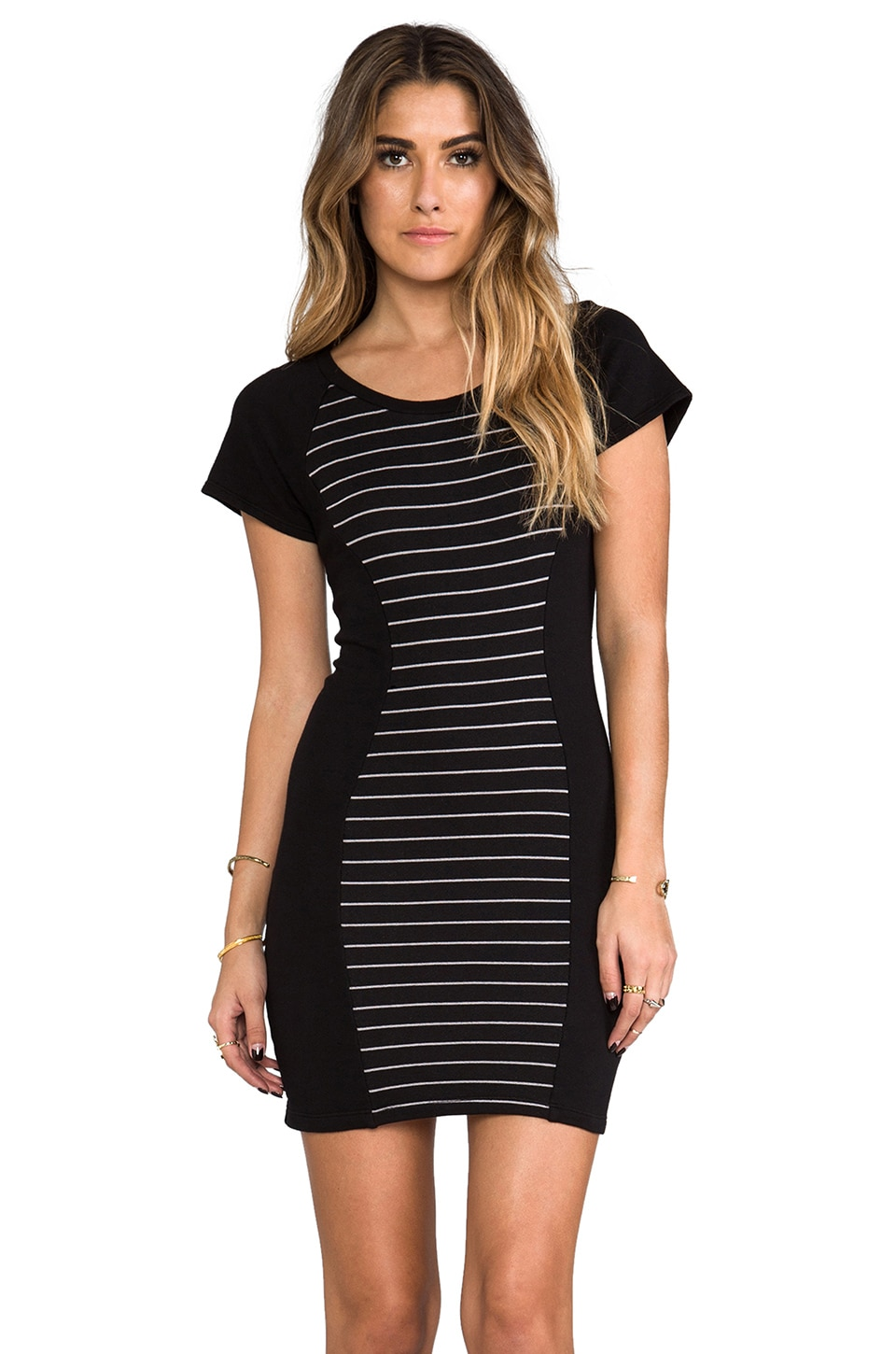 Kain Lively Dress in Black