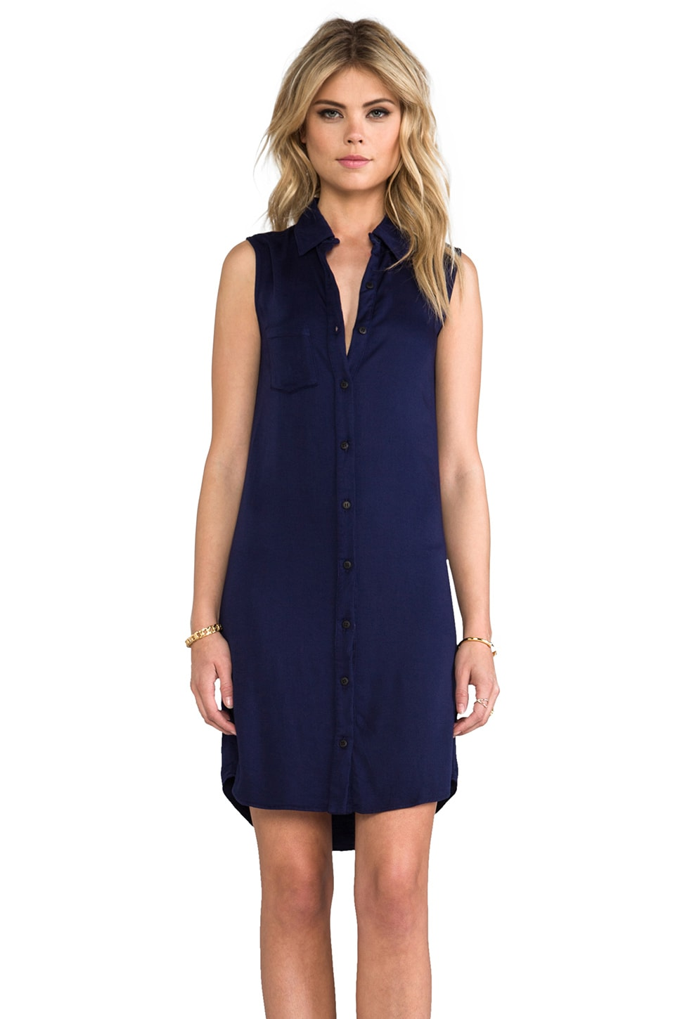 Kain O'Connor Dress in Navy