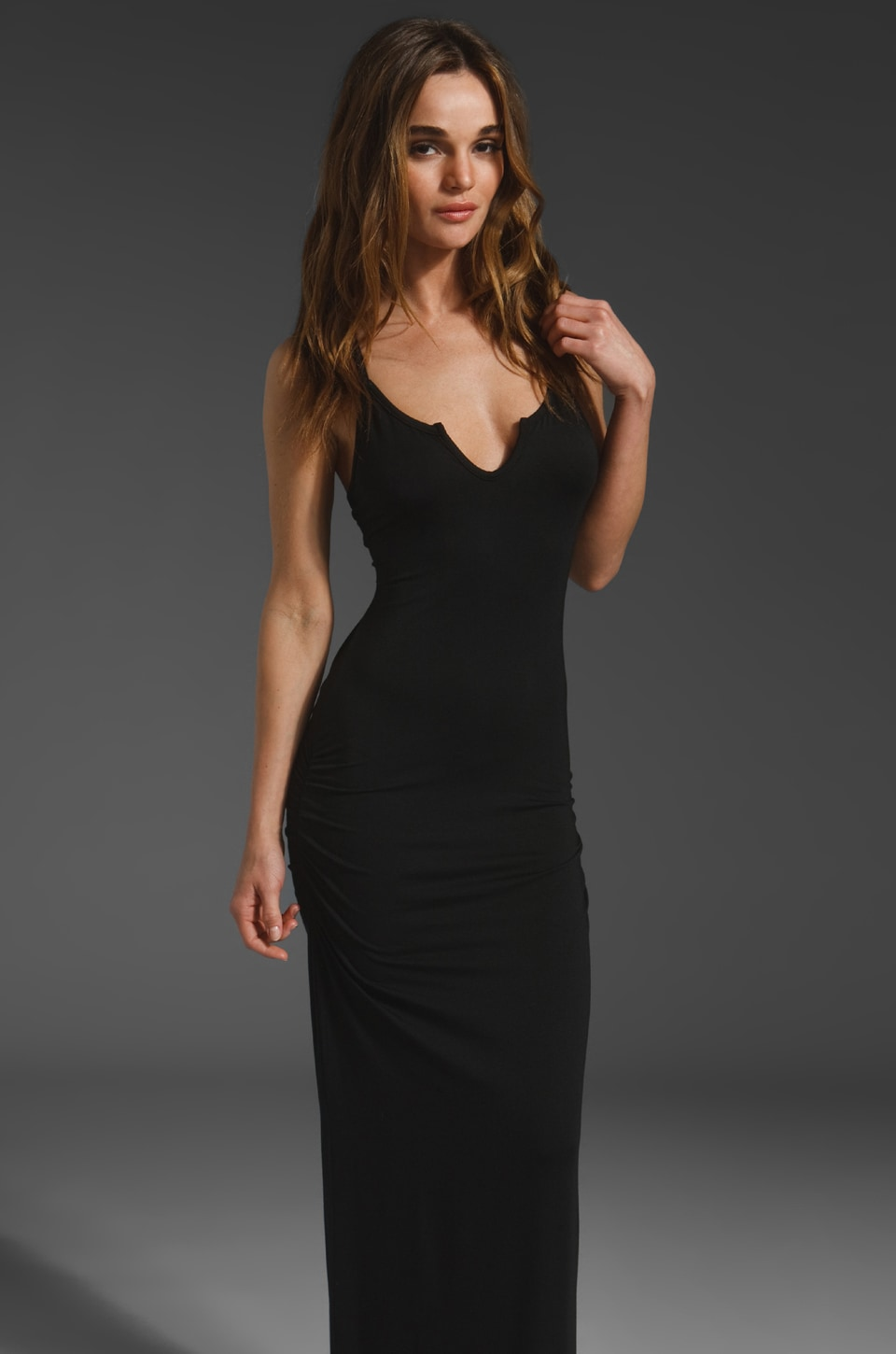 Kain Summer Dress in Black