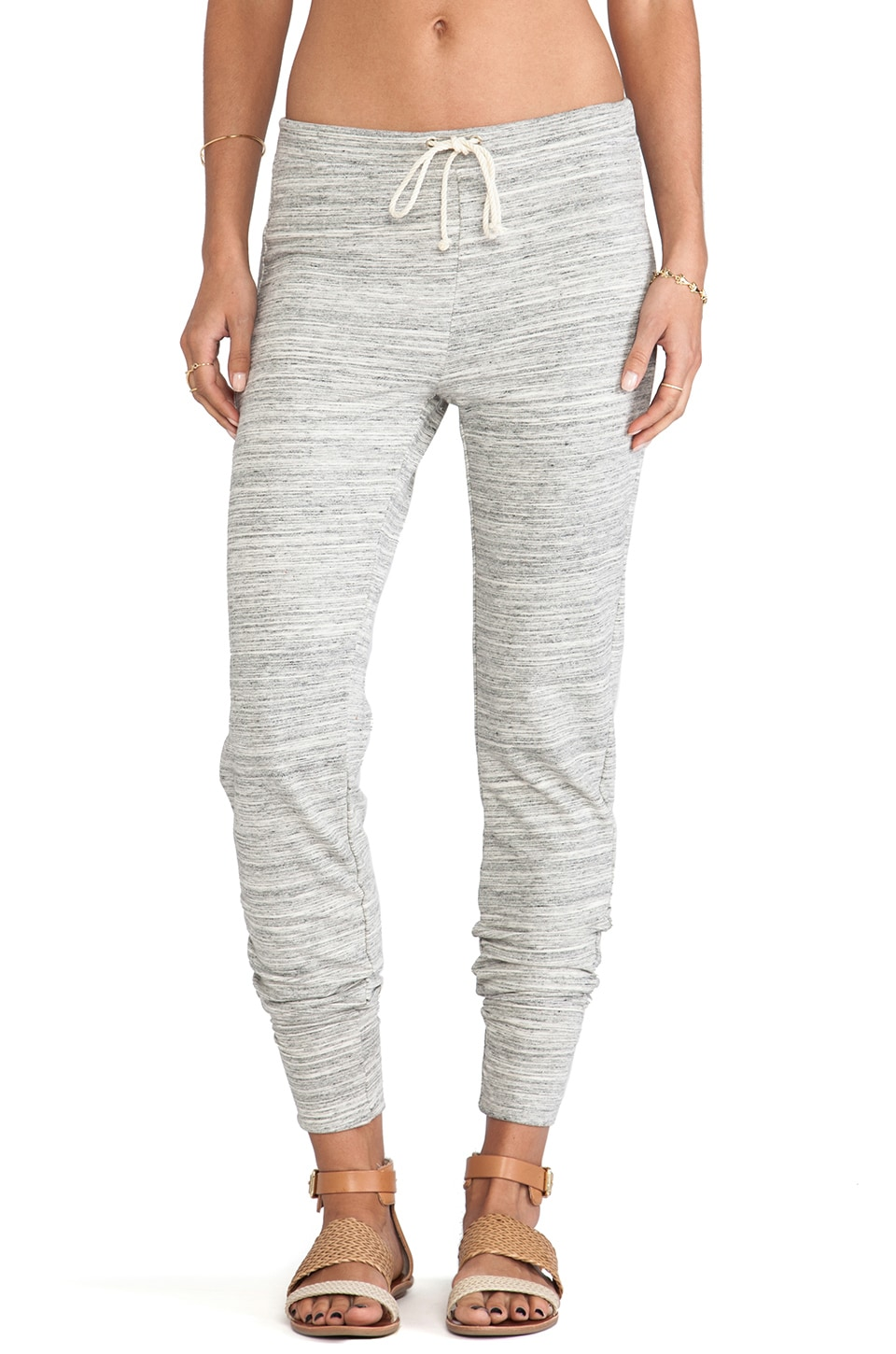 Kain Raylon Sweatpants in White Space Dye