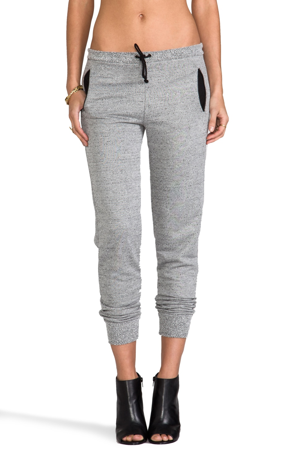 Kain Boucle Terry Cleary Sweatpant in Light Grey