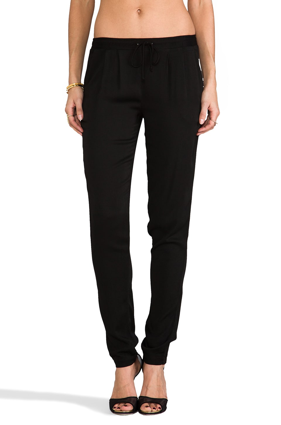 Kain Moore Pant in Black