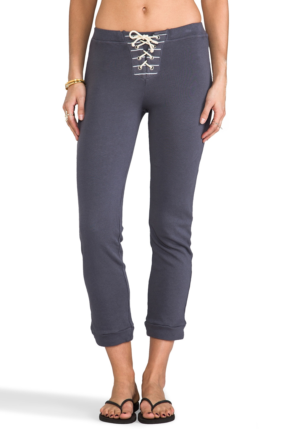 Kain Mantel Sweatpant in Pewter Grey