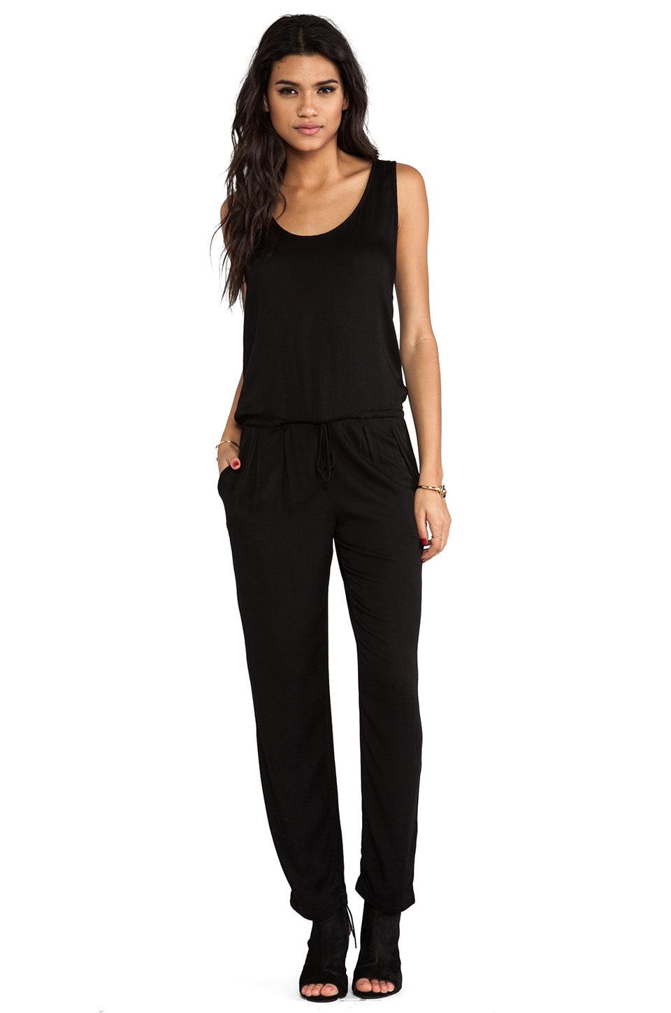 Kain Cala Jumpsuit in Black