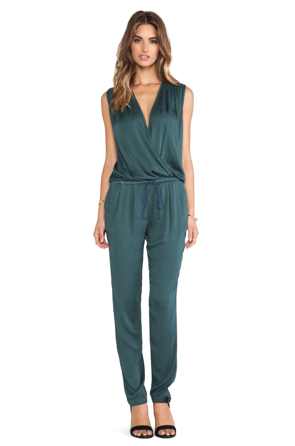 Kain Heidi Jumpsuit in Evergreen