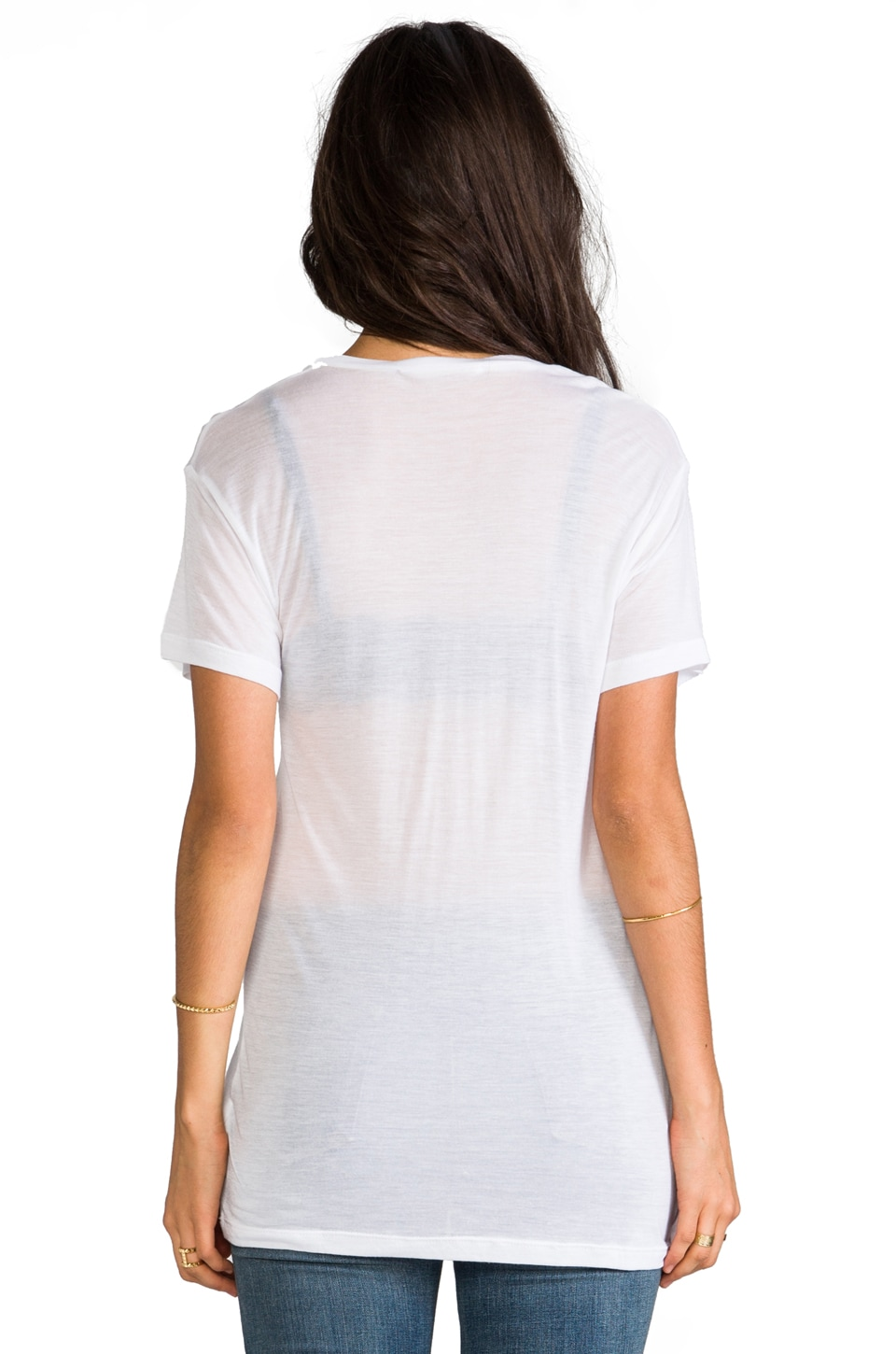 Kain Classic Pocket Tee in White