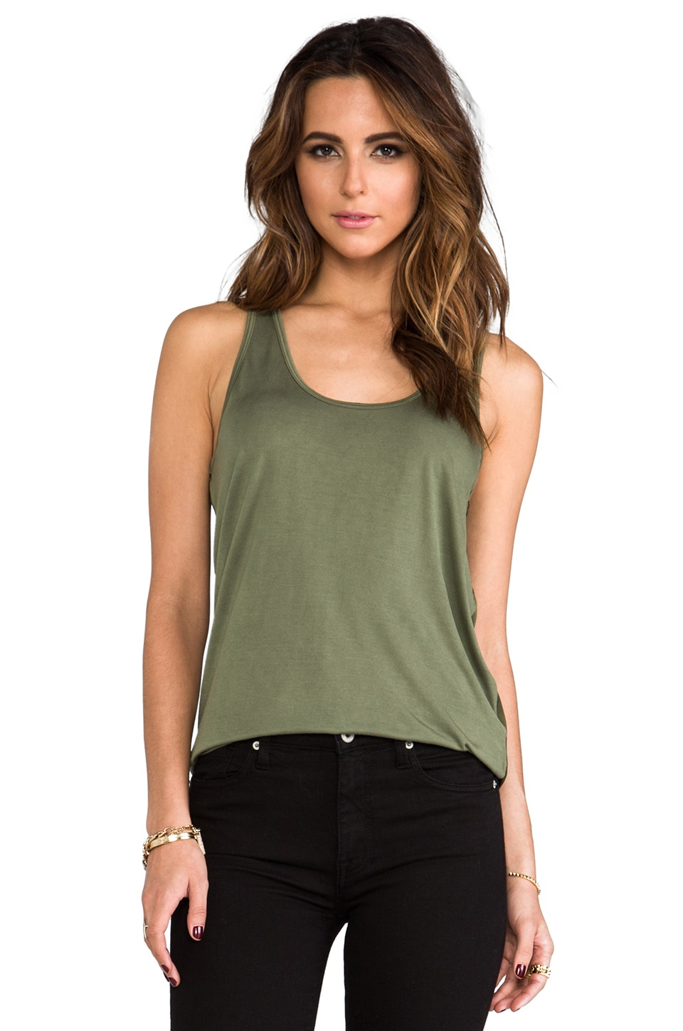 Kain Gaitskill Tank in Army Green