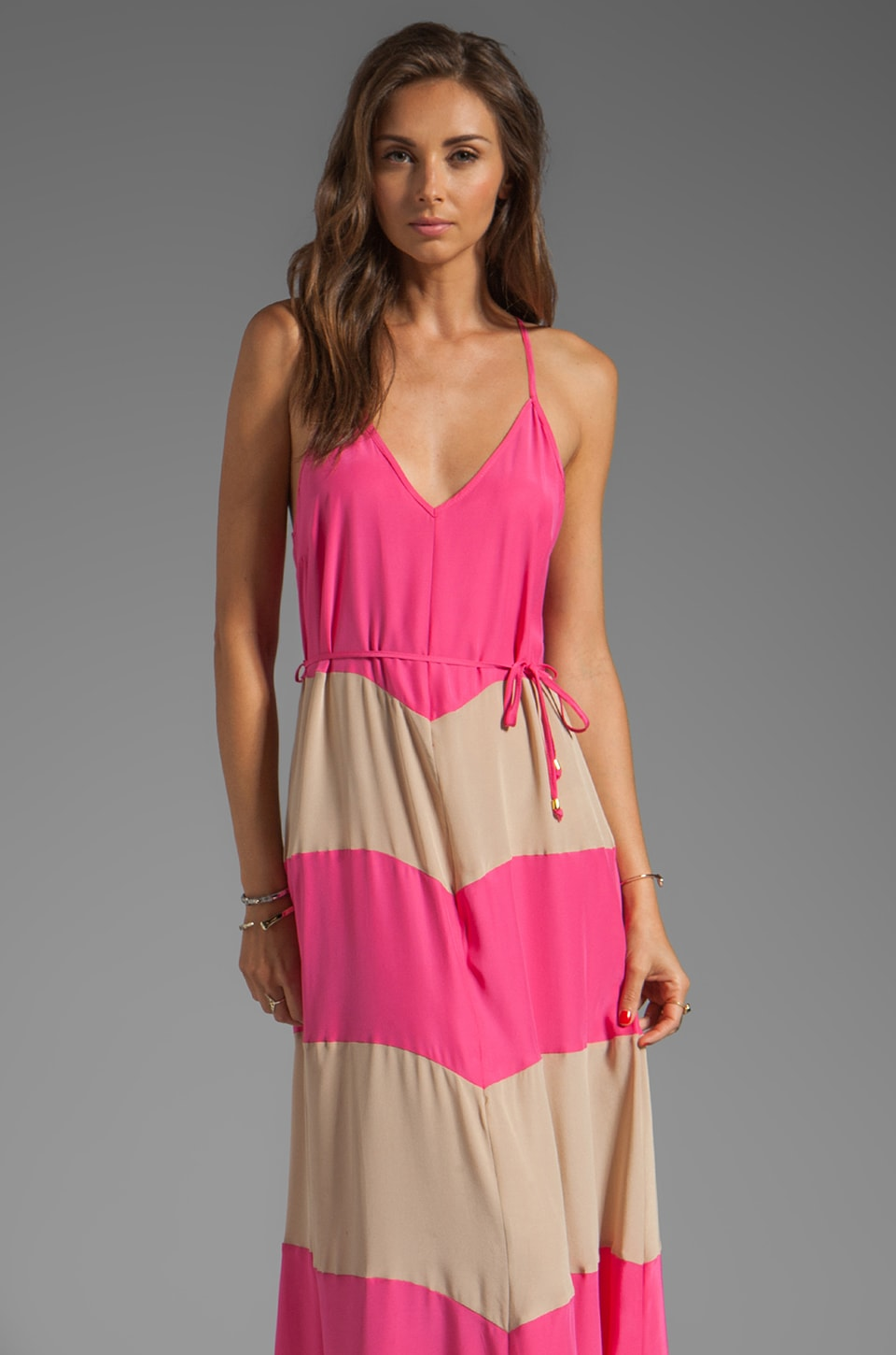 Karina Grimaldi Somer Maxi Dress in Pink