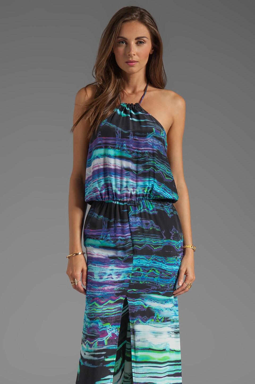 Karina Grimaldi Lily Print Maxi Dress in Marble Print