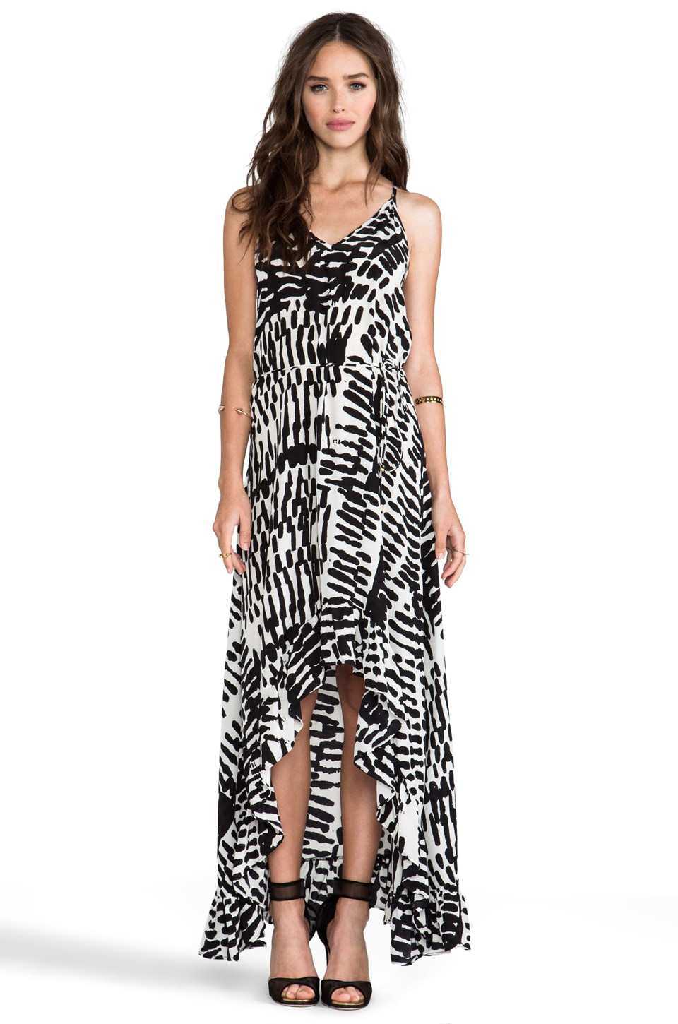Karina Grimaldi EXCLUSIVE Romantic Print Maxi Dress in Maze