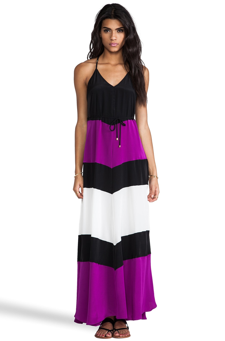 Karina Grimaldi EXCLUSIVE St. Barths Combo Maxi Dress in Purple