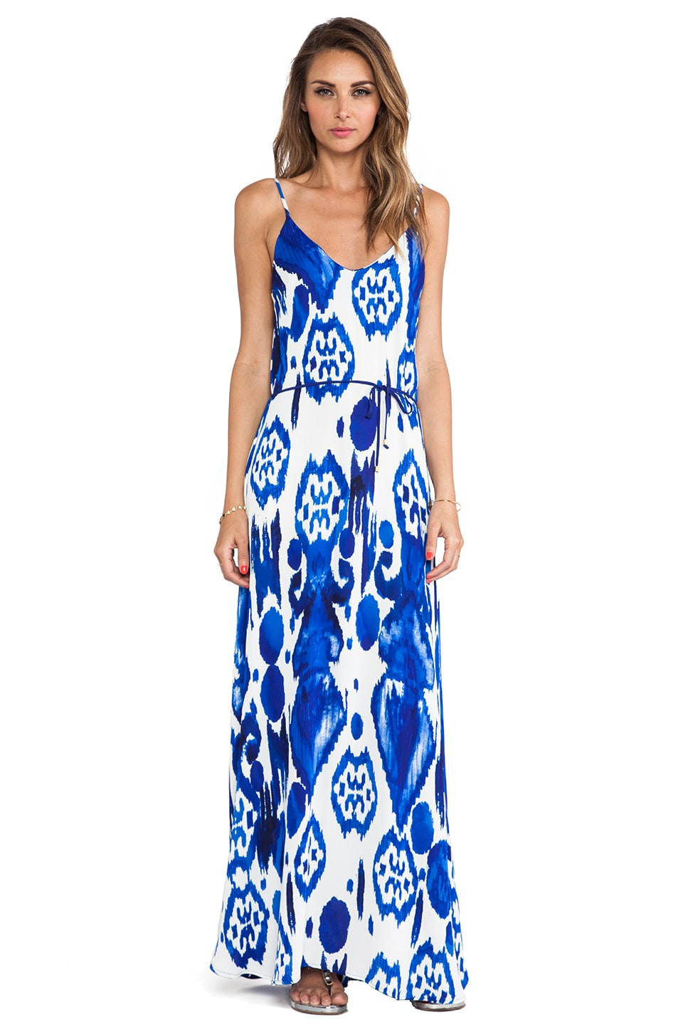 Karina Grimaldi Zeila Maxi Dress in Calico