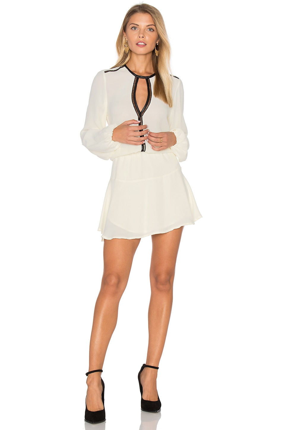 Titti Solid Mini Dress by Karina Grimaldi