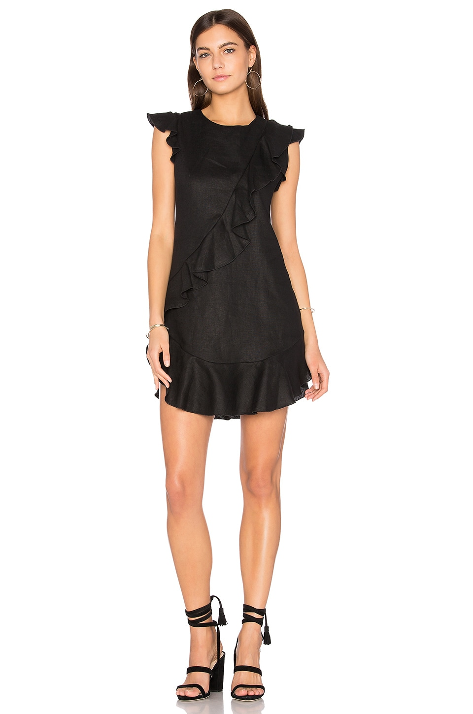 Anthony Ruffle Mini Dress by Karina Grimaldi