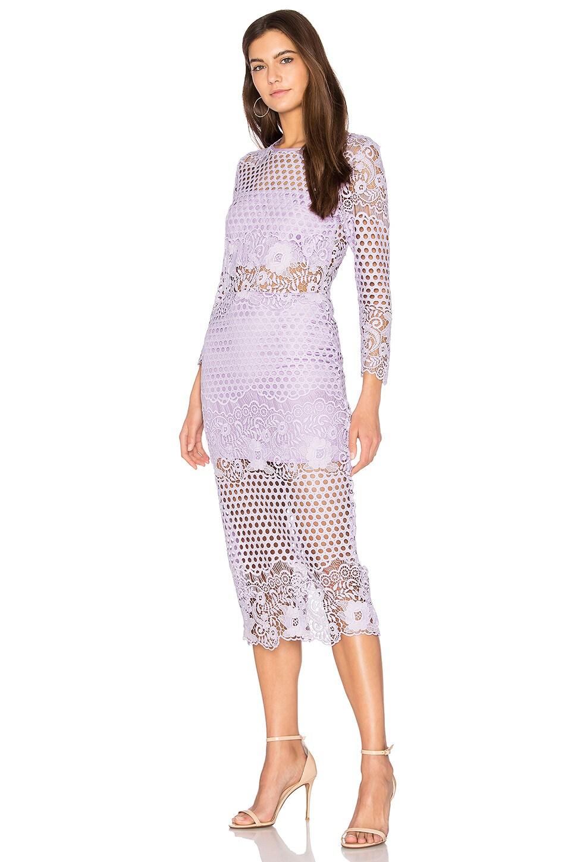 Shell Lace Dress by Karina Grimaldi