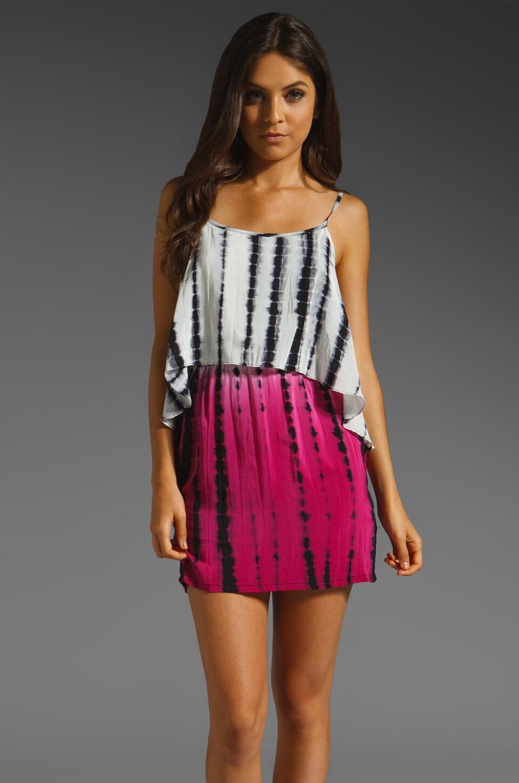 Karina Grimaldi Nina Print Mini in Pink Tie Dye