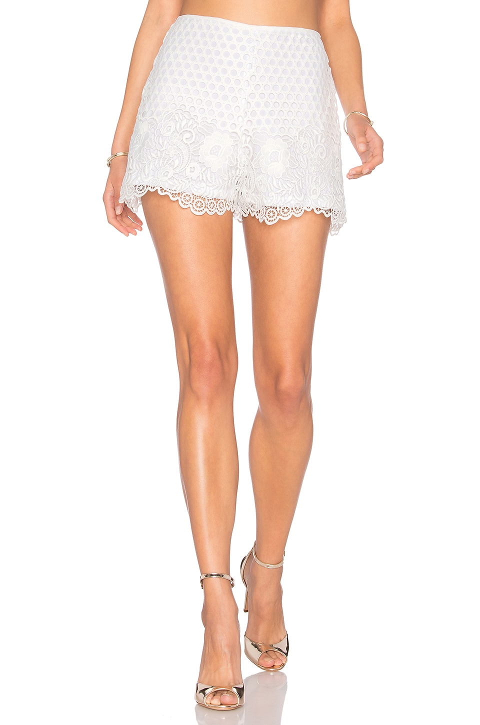 Saint Lace Short by Karina Grimaldi