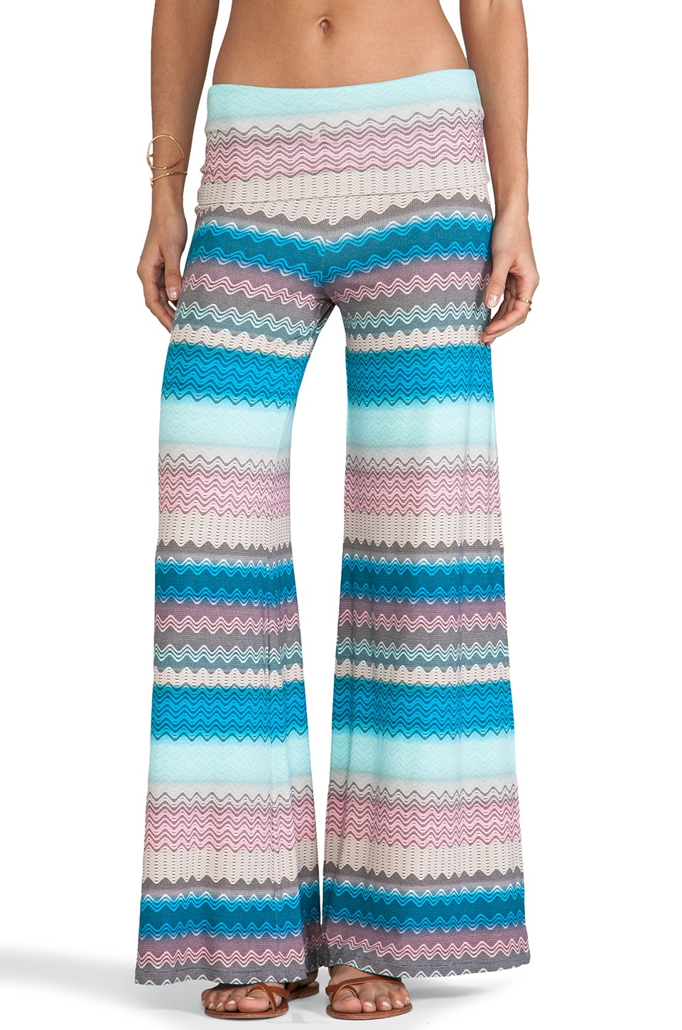 Karina Grimaldi Basik Knit Pants in Ocean Knit