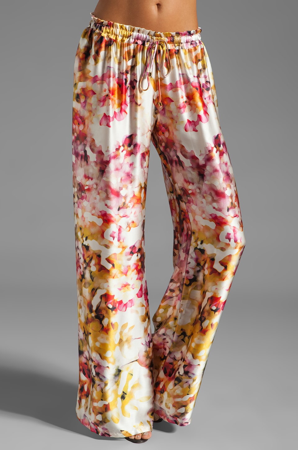 Karina Grimaldi Maui Print Pant in Water Color Floral