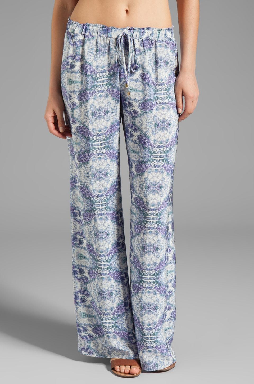 Karina Grimaldi Maui Print Pants in Sky Print
