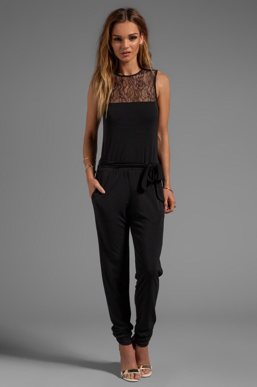 Karina Grimaldi Scarlet Jumpsuit in Black
