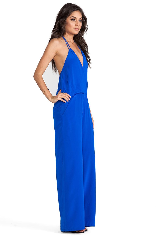 Karina Grimaldi Gardenia Solid Jumpsuit in Electric Blue | REVOLVE