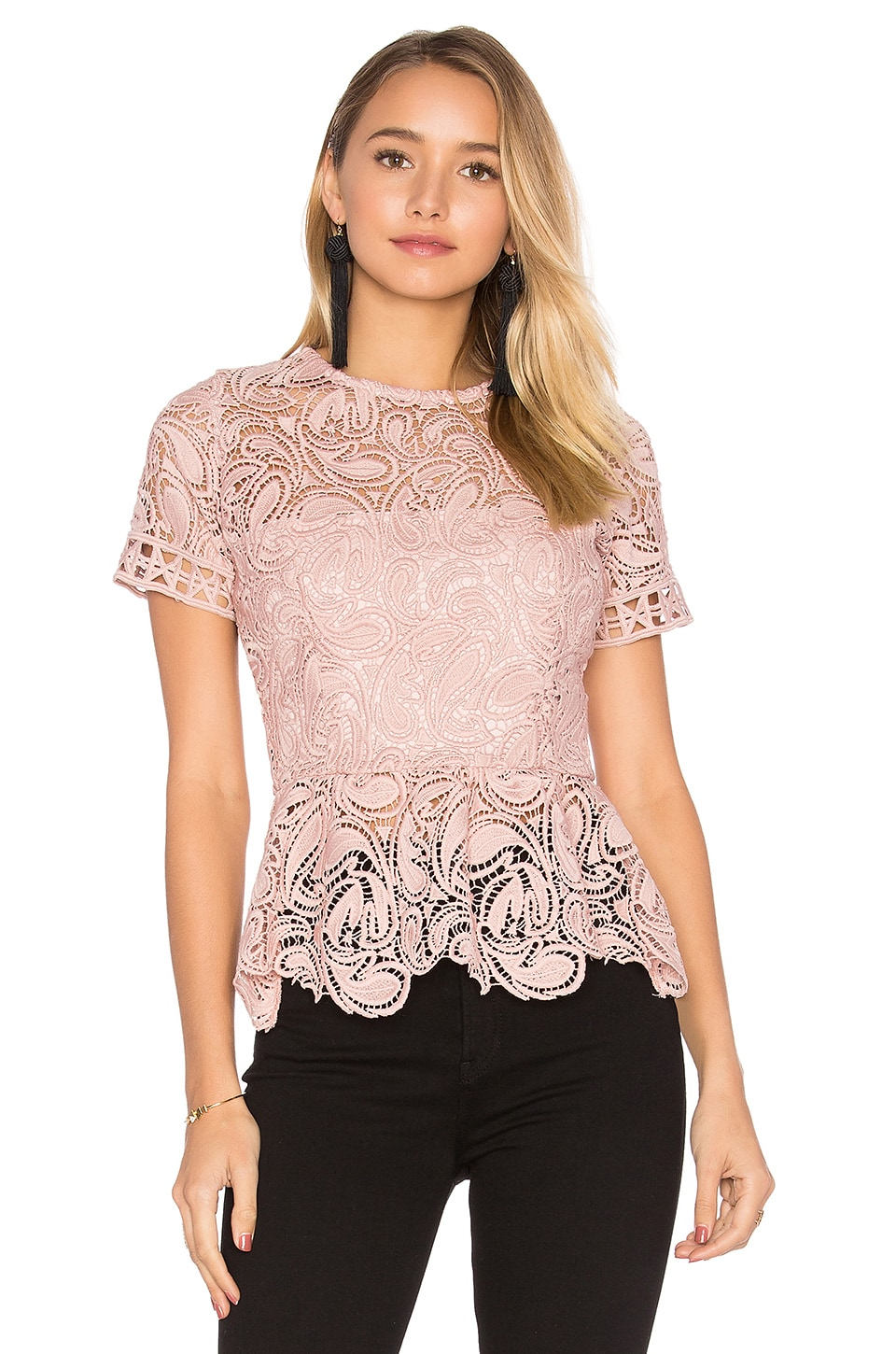 Rosa Lace Top by Karina Grimaldi