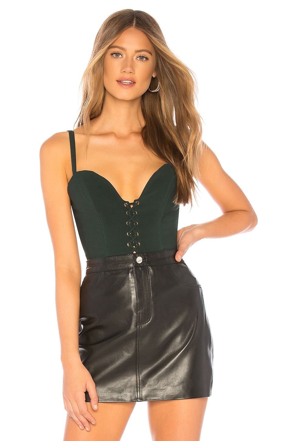 Lauren Top in Dark Green