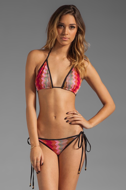 Karina Grimaldi Cannes Bikini Zig Zag in Pink