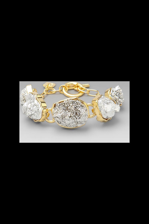 Roman Luxe Nuggets Bracelet in Gold