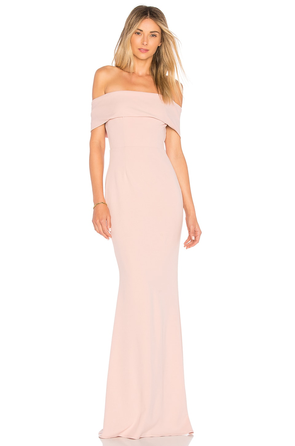 Katie May Legacy Gown in Dusty Rose | REVOLVE